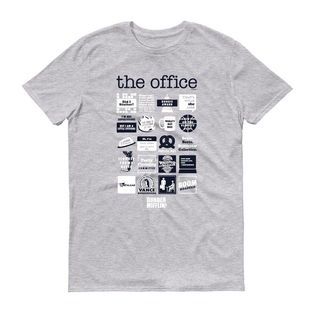 The Office Quote Mash-Up Men's Short Sleeve T-Shirt
