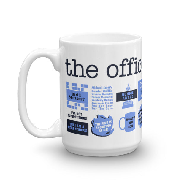 The Office Quote Mash-Up White Mug