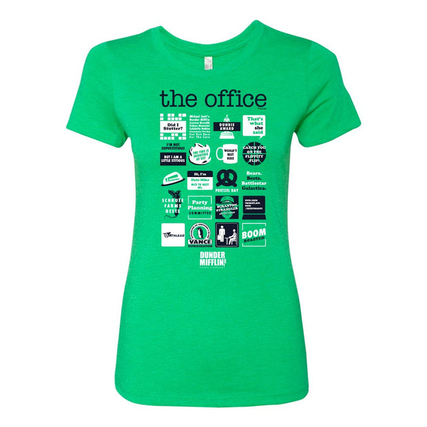 The Office Quote Mash-up St. Paddy's Day Women's T-Shirt