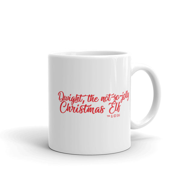 The OfficeDwight Elf White Mug