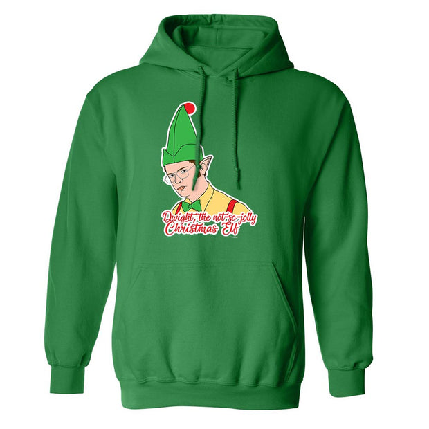 The Office Dwight Elf Fleece Hooded Sweatshirt