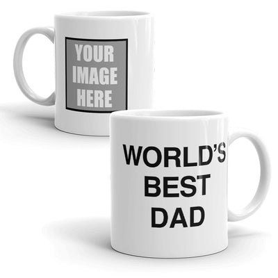 The Office Personalized World's Best Dad White Mug