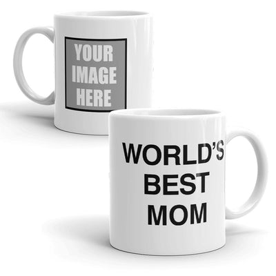 The Office Personalized World's Best Mom White Mug