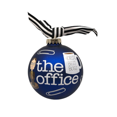 The Office World's Best Boss Ornament