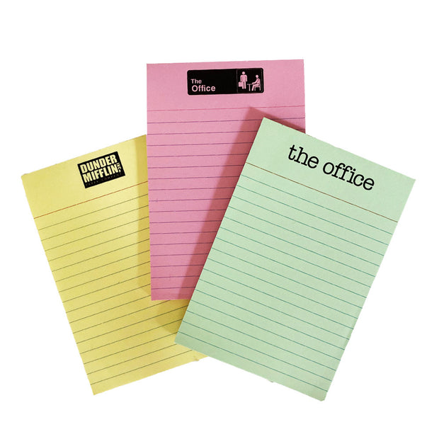 The Office Notepads Set
