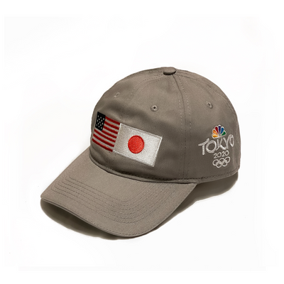 Tokyo 2020 Dual Flags Hat