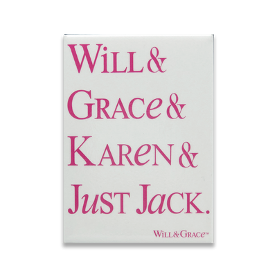 <em>Will & Grace</em> Character Magnet