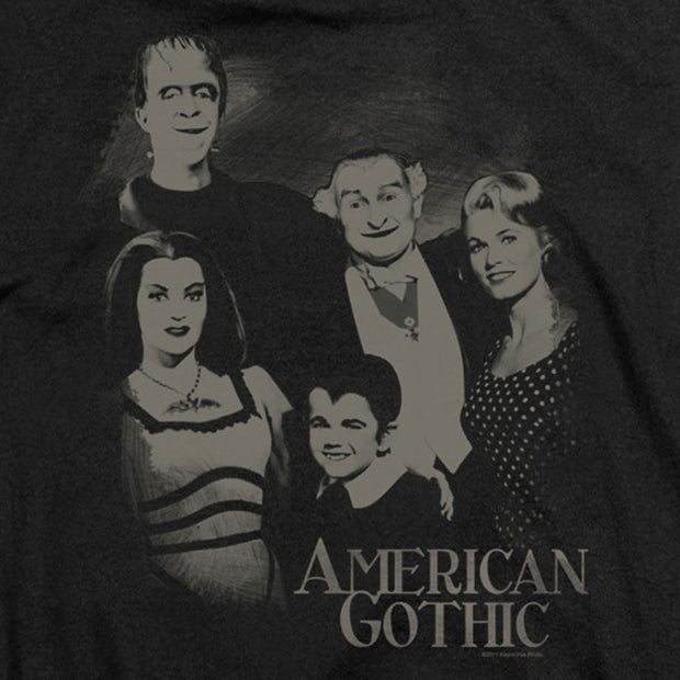 The Munsters American Gothic Women's Short Sleeve T-Shirt