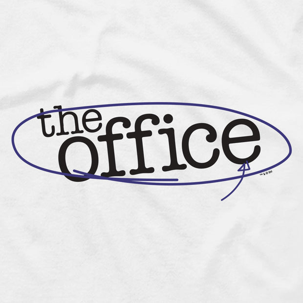 The Office Circled Logo Men's Short Sleeve T-Shirt