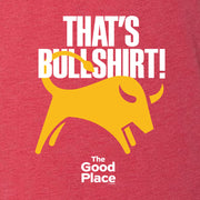 The Good Place That's Bullshirt Men's Tri-Blend Short Sleeve T-Shirt