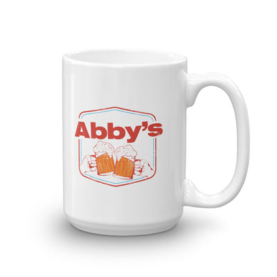 Abby's Cheers White Mug