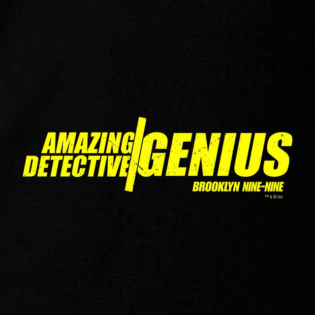Brooklyn Nine-Nine Amazing Detective Genius Crew Neck Sweatshirt