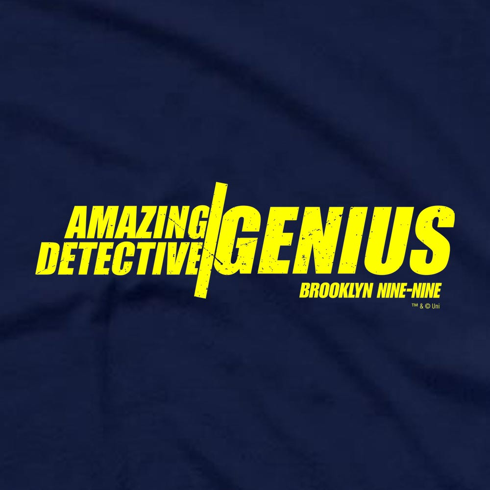 Brooklyn Nine-Nine Amazing Detective Genius Men's Short Sleeve T-Shirt-secondary-image