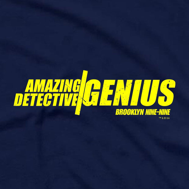 Brooklyn Nine-Nine Amazing Detective Genius Men's Short Sleeve T-Shirt