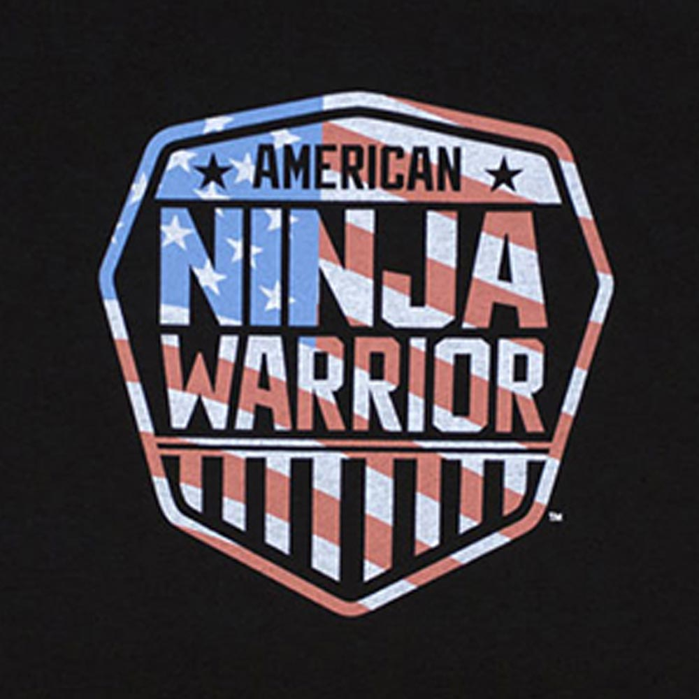 American Ninja Warrior Americana Men's T-shirt-secondary-image