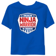 American Ninja Warrior In Training Kid's Short Sleeve T-Shirt