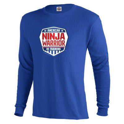 American Ninja Warrior In Training Long Sleeve T-Shirt