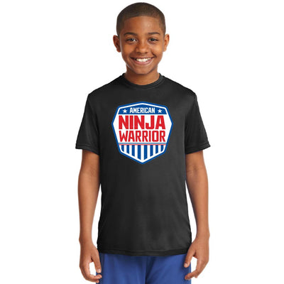 American Ninja Warrior Kids Performance T-Shirt
