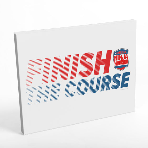 American Ninja Warrior Finish The Course Wall Art