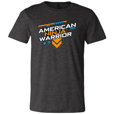 American Ninja Warrior Graphic Short Sleeve T- Shirt