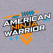 American Ninja Warrior Graphic Women's Racerback TankTop