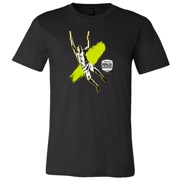 America Ninja Warrior Hang Tough Short Sleeve T- Shirt