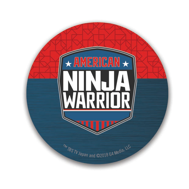 American Ninja Warrior 2 1/2 Round Stickers - 96 Pack