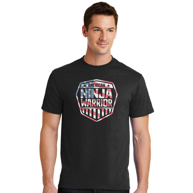 American Ninja Warrior Americana Men's T-shirt