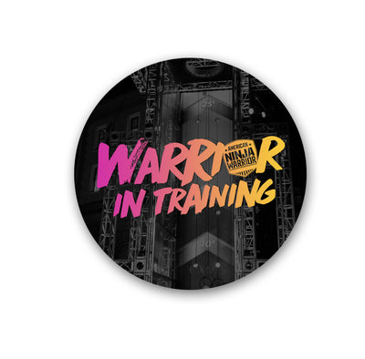 American Ninja Warrior In Training Stickers -96 Pack