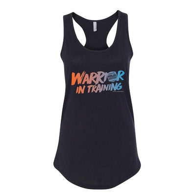 Warrior In Training Women's Racerback Tank Top