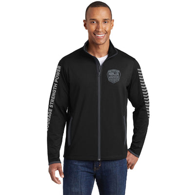 American Ninja Warrior Men's Performance Athletic Zip Jacket