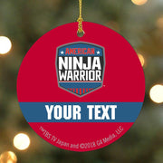 Personalized American Ninja Warrior Ornament