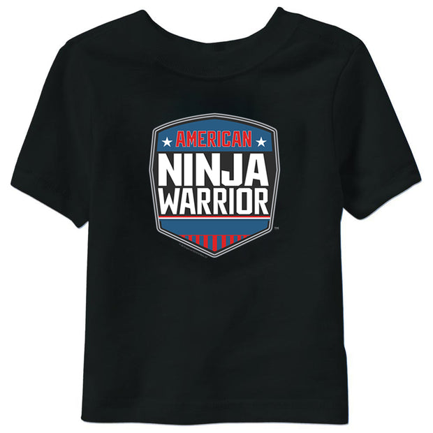 American Ninja Warrior Logo Kids/Toddler Short Sleeve T-Shirt