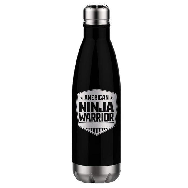 American Ninja Warrior Logo 17 oz Stainless Steel Slim Water Bottle