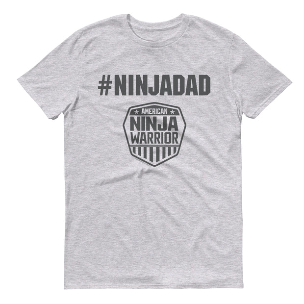 American Ninja Warrior #ninjadad Men's Short Sleeve T-Shirt