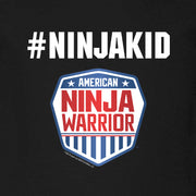 American Ninja Warrior #ninjakid Kids Short Sleeve T-Shirt