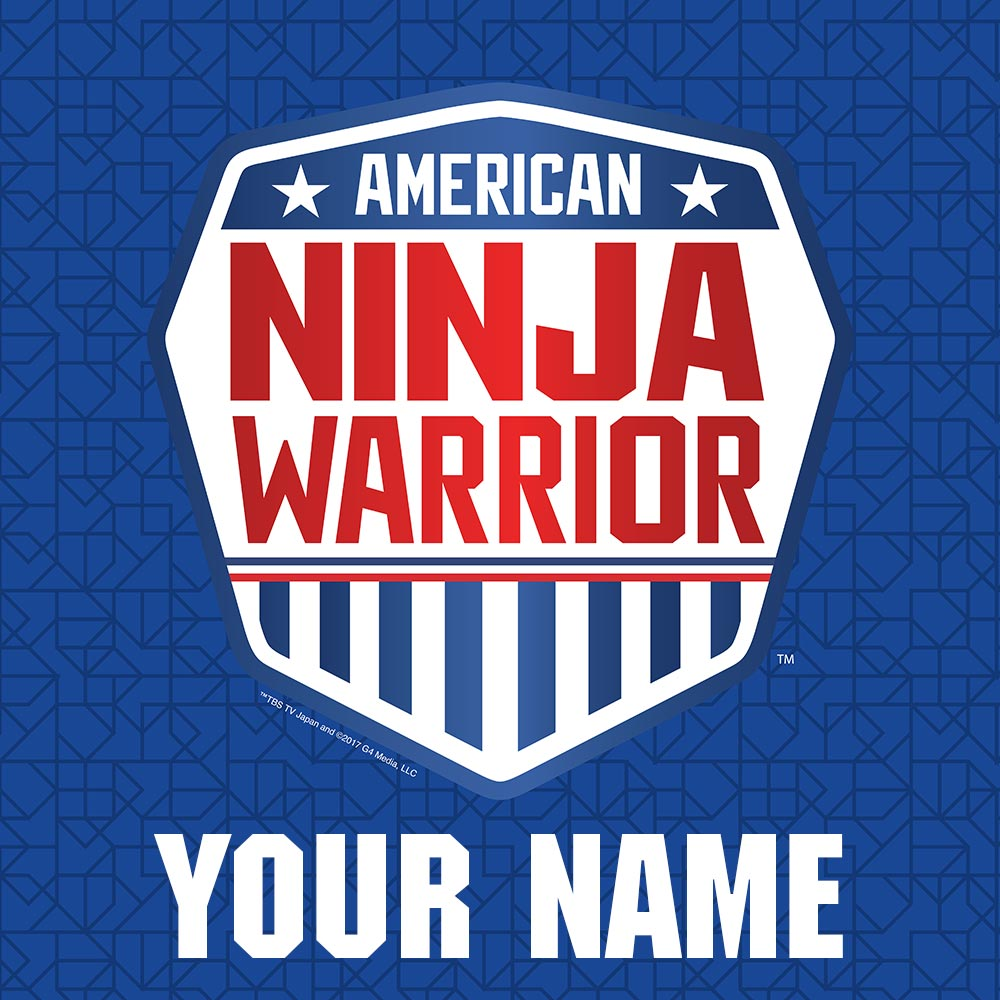 Personalized American Ninja Warrior Sherpa Blanket-secondary-image