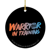 American Ninja Warrior Warrior In Training Ornament