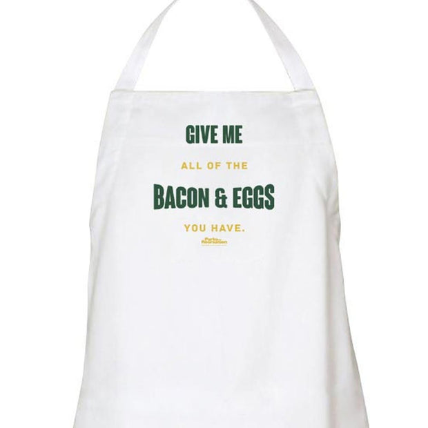 Parks and Recreation Bacon And Eggs Apron