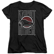 Knight Rider Logo Women's Short Sleeve T-Shirt