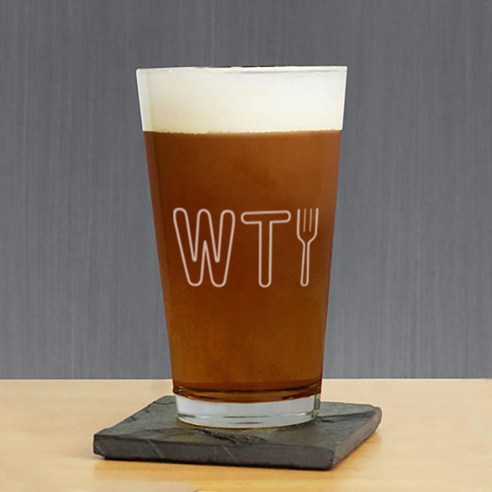 The Good Place WTFork Pint Glass-secondary-image
