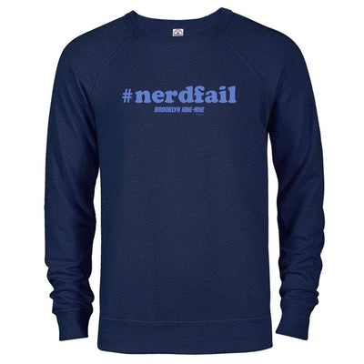 Brooklyn Nine-Nine #nerdfail Crew Neck Sweatshirt