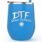 Brooklyn Nine-Nine Down to Fiesta Wine Tumbler