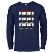 Brooklyn Nine-Nine Expressions of Holt Crew Neck Sweatshirt
