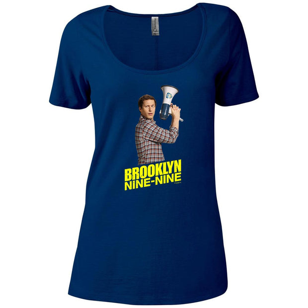 Brooklyn Nine-Nine Jake Peralta Women's Relaxed Scoop Neck T-Shirt