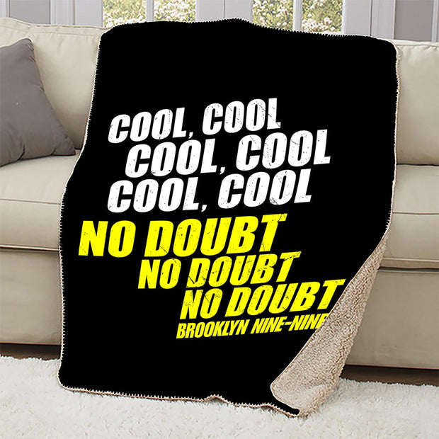 Brooklyn Nine-Nine No Doubt Sherpa Blanket