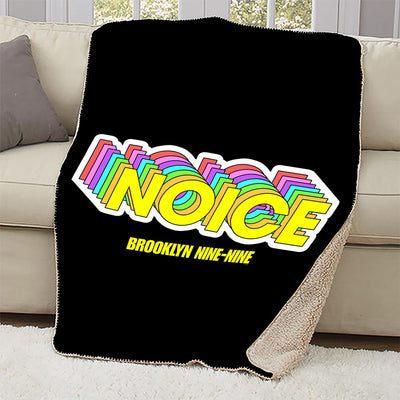 Brooklyn Nine-Nine Noice Sherpa Blanket
