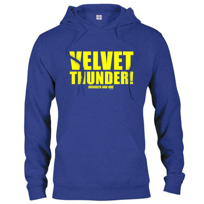 Brooklyn Nine-Nine Velvet Thunder Hooded Sweatshirt