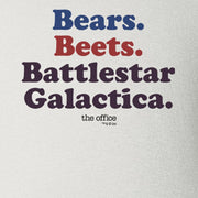 The Office Bears. Beets. Battlestar Galactica Baby Bodysuit