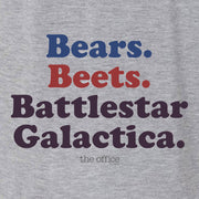 The Office Bears. Beets. Battlestar Galactica Women's Relaxed V-Neck T-Shirt
